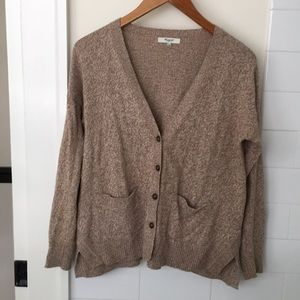 Madewell sweater cardigan